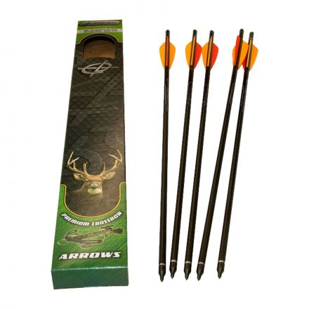 "Barnett 20"" Headhunter Crossbow Arrows - 5 Pack"