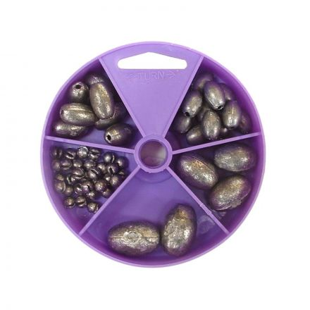 Gillies Dial Pack Egg Sinker Assorted