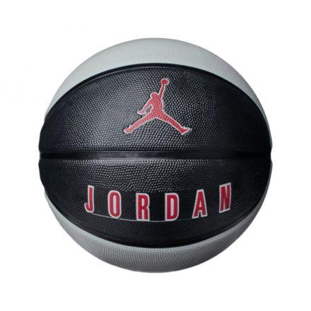 Jordan Playground 8P Basketball - Black/Wolf Grey/Red - Size 7