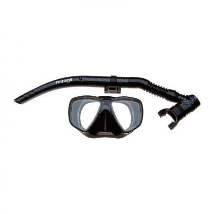 Mirage Set79 Carbon Adult Mask & Snorkel Set