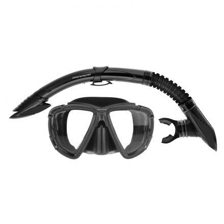 Mirage Set09 Platinum Adult Mask & Snorkel Set