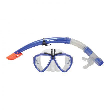 Mirage Set21 Camera Pro Mask & Snorkel Set - Blue