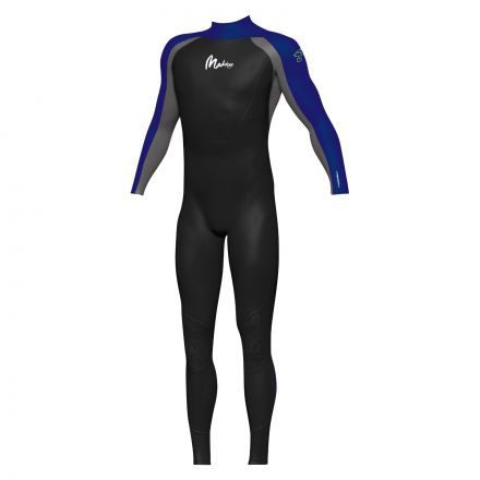 Maddog WS1 Mens Superstretch Wetsuit 3/2mm - Grey/Blue