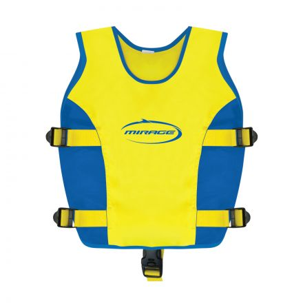Mirage Swim Vest Jnr Blue/Yellow