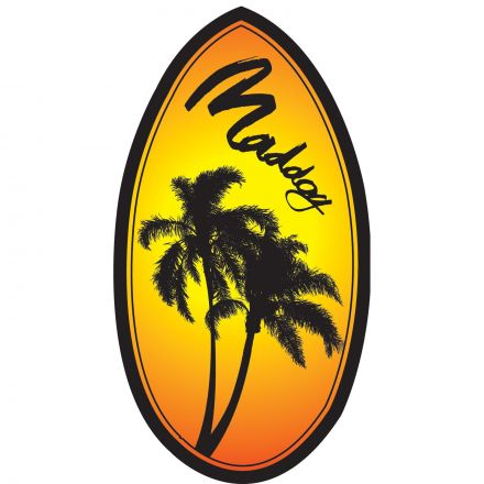 Maddog MSB130 S/Board Wedge - Assorted Designs - 37""