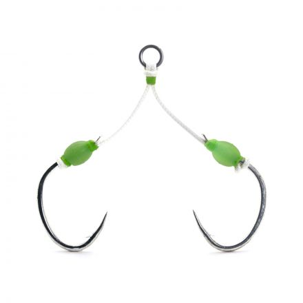 Mustad J-Assist3 Slow Pitch Double Jigging Assist Rig