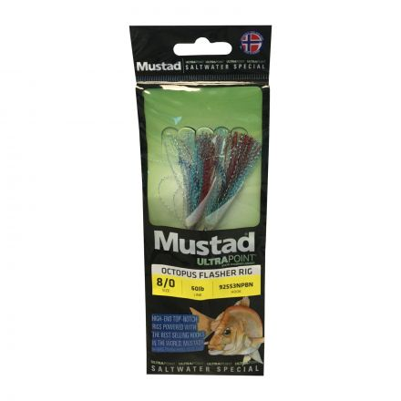 Mustad UltraPoint SWR01 Octopus Flasher Rig
