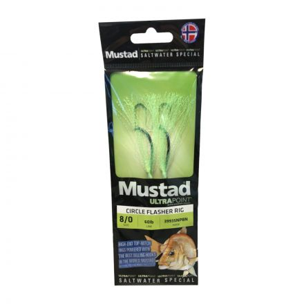 Mustad UltraPoint SWR02 Circle Flasher Rig