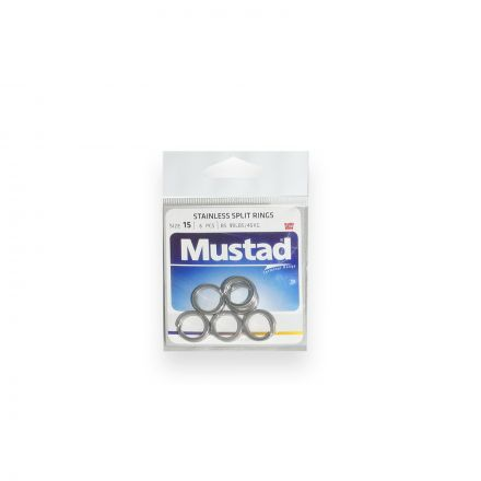 Mustad MA033-SS Forged Stainless Steel Split Rings