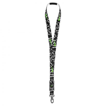 Nike Premium Lanyard - Black/White/Green