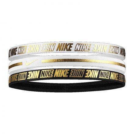 Nike Metallic Headbands 3pk 2.0