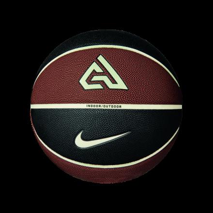 Nike All Court 8P 2.0 Antetokounmpo Basketball - Amber/Sail/Black - Size 7