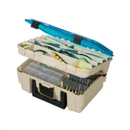 Plano 134900 Medium Two Level Magnum Satchel Tackle Box