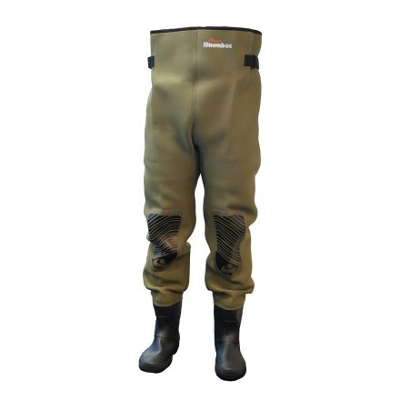 Snowbee Neoprene Waist Wader With Cleated Sole