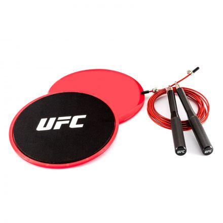 UFC Sliders & Speed Jump Rope Set