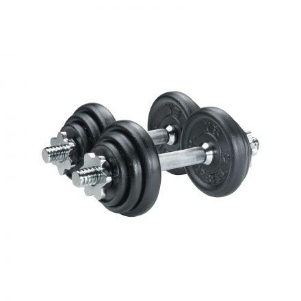 York Cast Iron Plate Dumbbell Set - 20kg