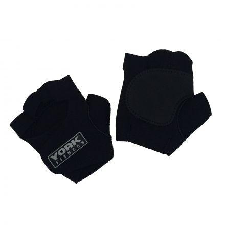 York Neoprene Weight Training Gloves